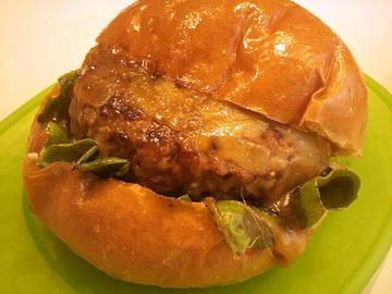 パンまるのハンバーガー