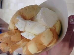 世界で二番目においしいメロンパンアイス